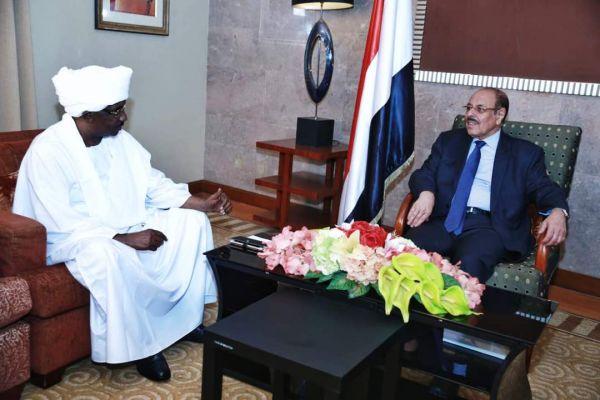 نائب الرئيس يثمن جهود السودان ضمن التحالف العربي في اليمن