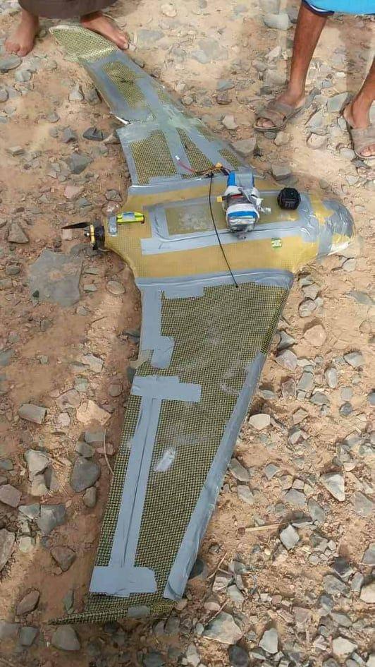صنعاء: إسقاط طائرة حوثية مسيّرة في مديرية نهم شرقي العاصمة صنعاء