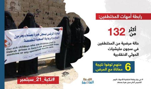 «صنعاء» تتحول إلى سجن كبير.. «العاصمة أونلاين» يفتح ملف «المختطفين» في سجون الانقلاب