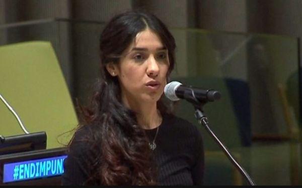 العراقية نادية مراد من الاستبعاد الى نوبل للسلام