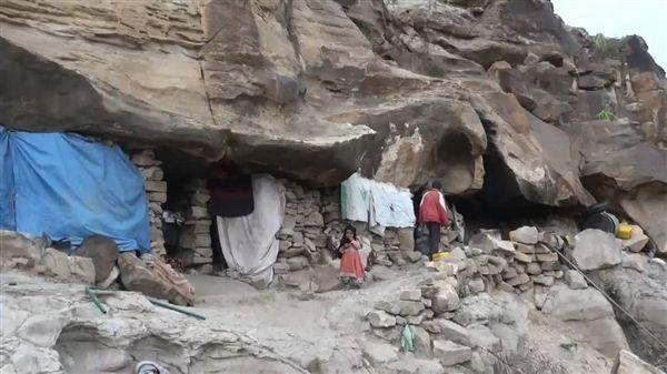 تقرير يكشف حجم الدمار الذي خلفه القصف الحوثي على إحدى القرى بمحافظة الضالع
