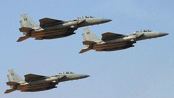 غارات متفرقة لمقاتلات التحالف العربي بصنعاء