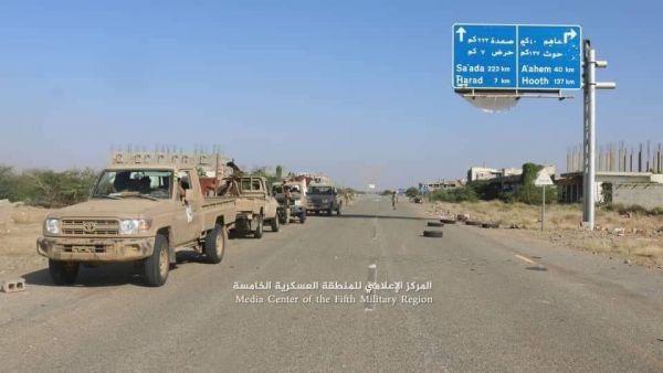 نائب رئيس الجمهورية يشيد بانتصارات الجيش في حجة
