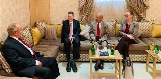 """""""اليدومي"""" يدعو المجتمع الدولي لاتخاذ موقف حازم يجبر الانقلابيين على الجنوح للسلام"""