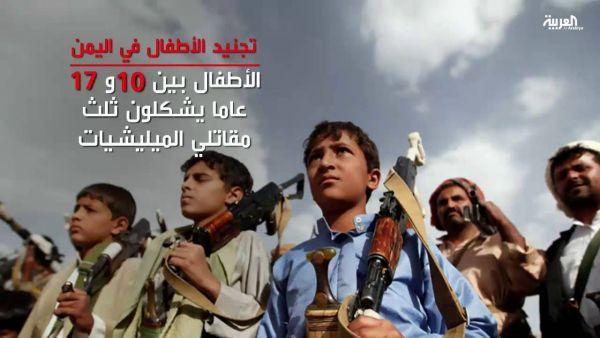 صنعاء: مليشيا الحوثي تكثّف عمليات تجنّيد الأطفال ومخاوف في أوساط المواطنين