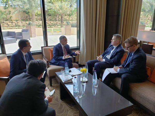 زمام يدعو المجتمع الدولي الى دعم البنك المركزي لتعزيز استقرار الاقتصاد