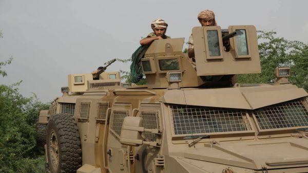 الجيش الوطني يحرر مساحات واسعة بمديرية حرض بحجة
