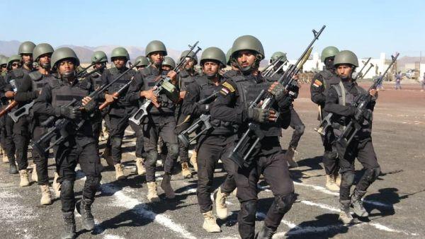 قوات الأمن الخاصة تدشن العام التدريبي الجديد بمأرب