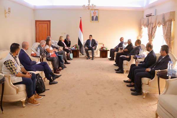 وفد أوروبي رفيع يزور عدن ويؤكد دعمه للحكومة وإنهاء الانقلاب