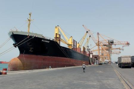 الأمم المتحدة تحذر من صعوبة الوصول الى مخازن الحبوب في الحديدة