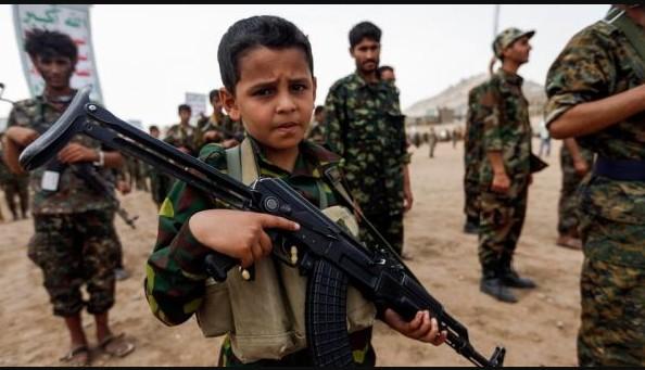 مقتل أكثر من 3 آلاف طفل.. منظمة حقوقية: الحوثيون ارتكبوا جرائم صارخة بحق الأطفال في اليمن