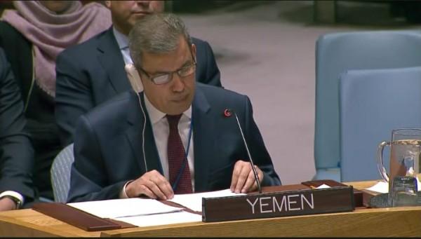مندوب اليمن بالأمم المتحدة: الامارات وفرت الدعم الكامل للانقلاب بعدن