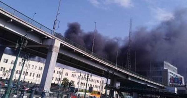 مصر.. مقتل وإصابة 35 شخصاً بحريق محطة قطار بالقاهرة