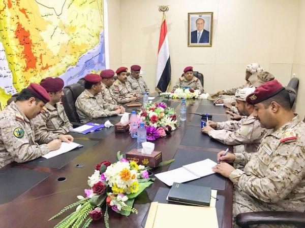 في اجتماعه مع قادة المناطق والتحالف.. المقدشي: عازمون على إنهاء معاناة اليمنيين