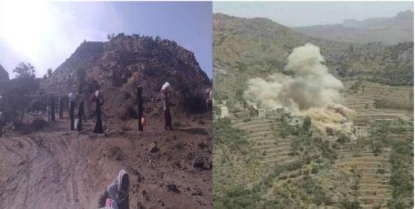 منظمة حقوقية تحذر من جرائم حرب ترتكبها ميليشيا الحوثي في حجور والحشا