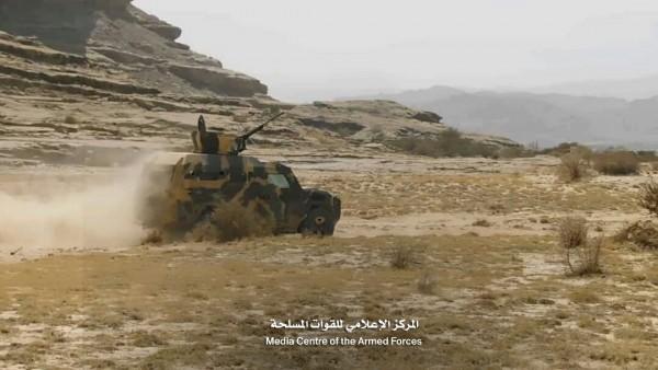 الجيش الوطني يدك معاقل الميليشيا في صعدة والجوف