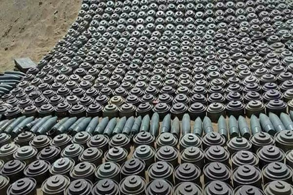 الجيش الوطني يتلف 2000 لغم زرعتها مليشيا الحوثي بصعدة