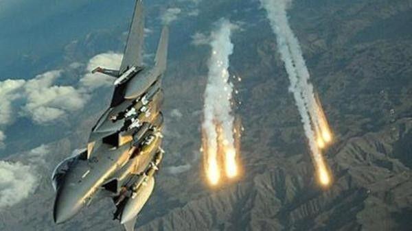مقاتلات التحالف تدمر غُرف اتصالات متطورة للمليشيات بصعدة