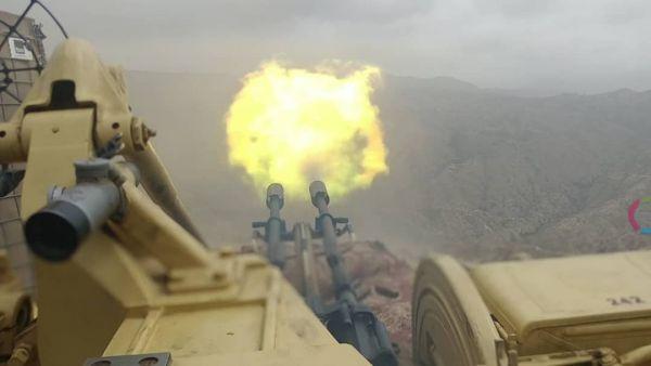 الجيش الوطني يتقدم في رازح ويحبط محاولة التفاف في الملاحيظ بصعدة