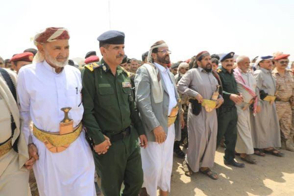 تشييع رسمي وشعبي لكوكبة من شهداء الأمن بمأرب