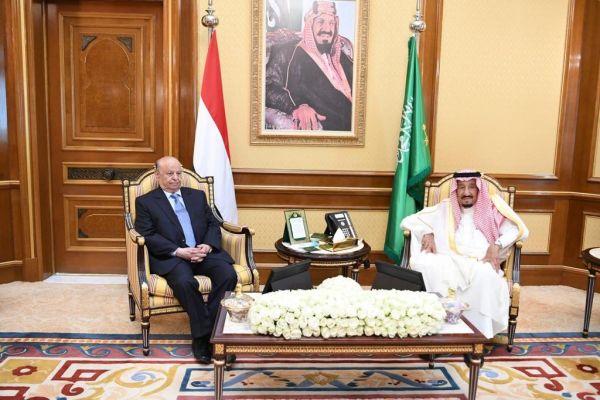 قمة يمنية سعودية بمكة لمناقشة التطورات في العاصمة المؤقتة عدن