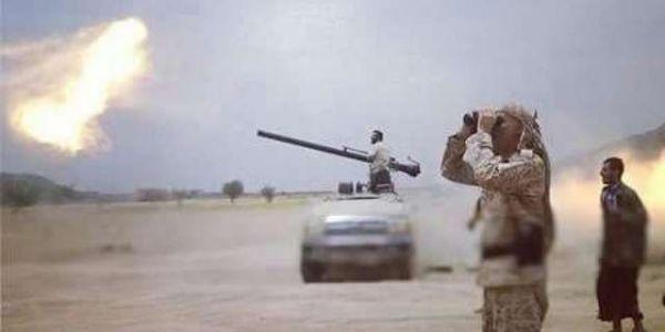 مصرع وجرح عشرات الحوثيين بينهم قيادات ميدانية بنيران الجيش في نهم