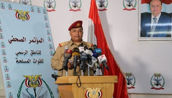متحدث الجيش: استشهاد وإصابة 3 من أبطال الجيش اثر سقوط صاروخ في مأرب