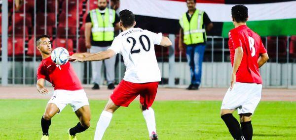 المنتخب اليمني يفوز على نظيره الفلسطيني بهدف نظيف