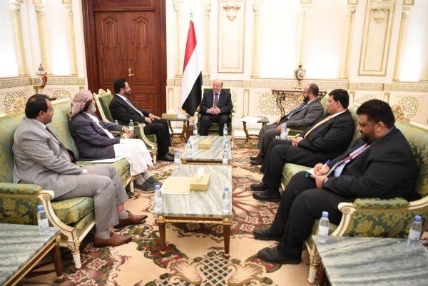 الرئيس هادي: اقليم سبأ أصبح واقع على الارض وعهد الاقصاء انتهى