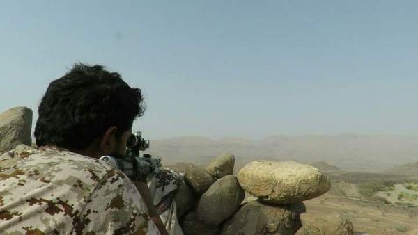 الجيش يحرر موقعاً جديداً في جبهة المخدرة غربي صرواح