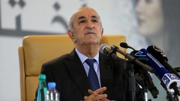 الرئيس الجزائري بن تبون يؤدي اليمين الدستورية رئيساً جديداً للجزائر