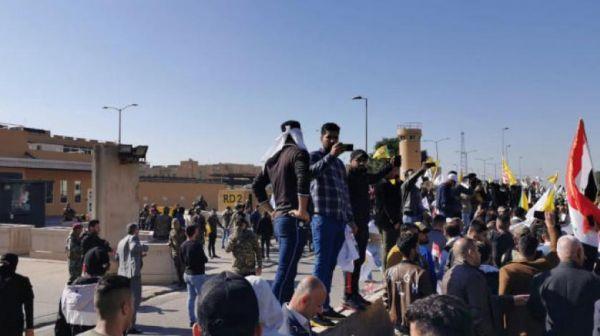 ترمب: إيران تقف خلف الهجوم على السفارة الأميركية في بغداد