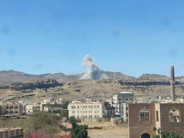 غارات للتحالف تدمر مخازن أسلحة للحوثيين بالعاصمة صنعاء