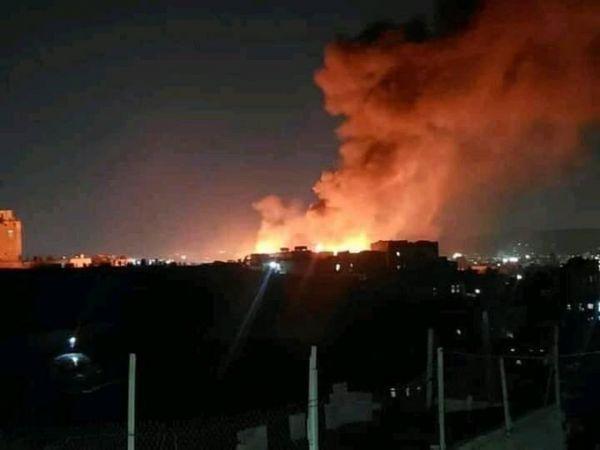 """""""حريق السنينة"""" يفضح فساد الحوثيين ويفجّر غضب اليمنيين"""