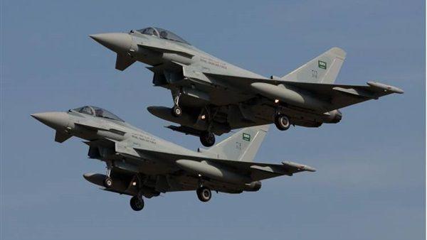 مقاتلات التحالف تدمر تعزيزات حوثية شرق صنعاء
