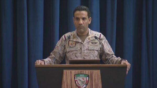"""التحالف يعلن تدمير طائرة بلا طيار """"مفخخة"""" أطلقتها المليشيات باتجاه السعودية"""