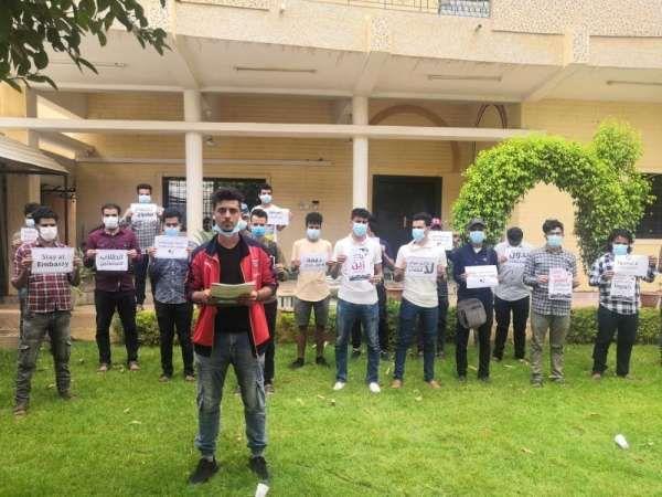 طلاب اليمن في السودان يطالبون الحكومة بصرف مستحقاتهم