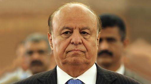 """الرئيس """"هادي"""" يدعو إلى وقف التحشيد الإعلامي ودعم خطوات تنفيذ اتفاق الرياض"""