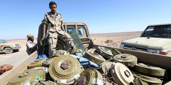 في الأسبوع الأخير من يوليو.. نزع 1327 لغماً وذخائر غير منفجرة زرعتها مليشيا الحوثي