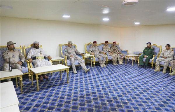 """في زيارة عيدية لمقر التحالف المقدشي والعرادة يثمنان مواقف """"السعودية"""" الداعمة لليمن"""
