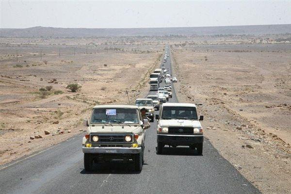 تسيير قافلة غذائية عيدية دعماً لأبطال الجيش شرق صنعاء