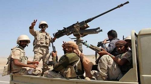 مقتل وإصابة 23 حوثيا بنيران الجيش في الضالع