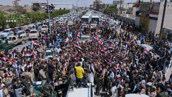 مأرب.. استقبال شعبي ورسمي للمختطفين المحررين من سجون المليشيا الحوثية