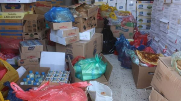 حرائر أمانة العاصمة يُسيرن وجبات غذائية لجرحى الجيش الوطني