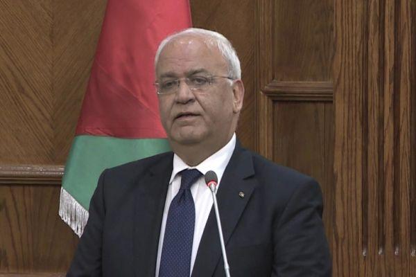 وفاة كبير المفاوضين الفلسطينيين والقيادي في حركة فتح صائب عريقات