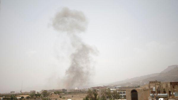 التحالف يدك أهدافاً لمليشيات الحوثي في صنعاء بسلسلة غارات مكثفة