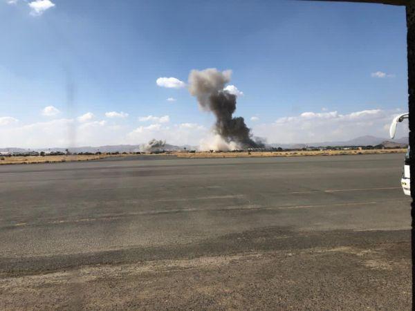 التحالف يستهدف مخازن للأسلحة والصواريخ التابعة لمليشيات الحوثي بصنعاء