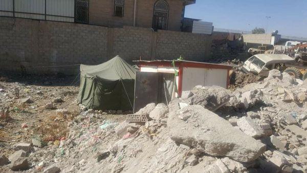 قيادي حوثي يسطو على أرض امرأة أرملة في صنعاء