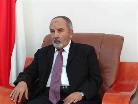 اليدومي يعزي بوفاة الدكتور عبدالواحد الزنداني أستاذ القانون الدولي بجامعة صنعاء