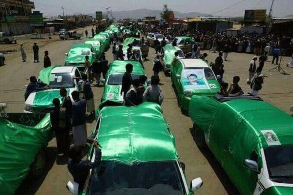 """بعد إخماد التصعيد بمأرب.. جثث وتوابيت خضراء تملأ صنعاء و""""الحوثية"""" تلجأ للتجنيد مجدداً"""